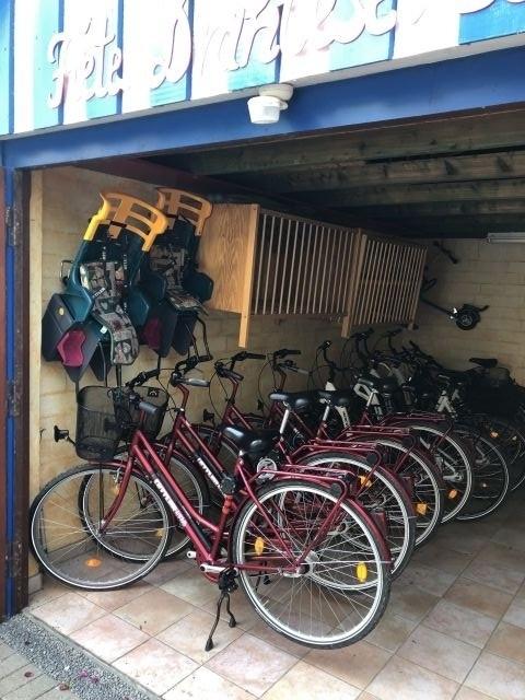 Fahrräder für unsere Gäste kostenfrei