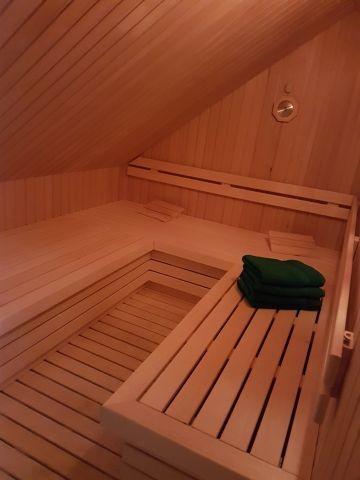 große Sauna zum Relaxen