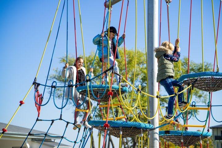 Kletterturm für die Kinder