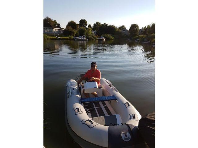 Unser neues Boot führerscheinfrei mit 6ps Motor