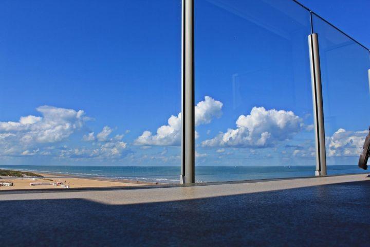 Ausblick vom Balkon 1