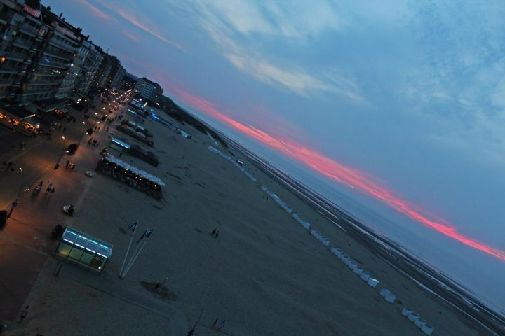 Abendsonne vom Balkon