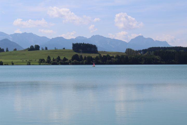 Segeln und Bootfahren auf dem Lechsee direkt vor Ihrer Haustür