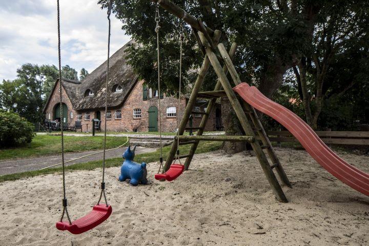 Spielplatz haubarg am meer