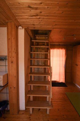 Treppe zur Schlafgalerie