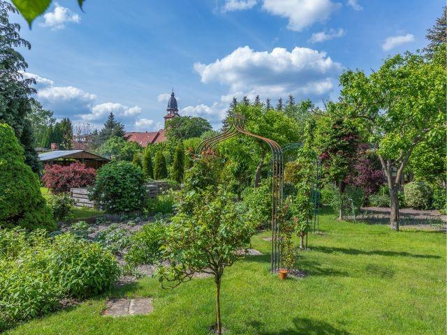 Der Garten vom Hafenhaus Waren Müritz