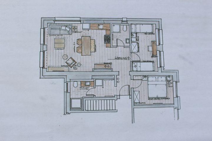BEIDE Schlafzimmer haben Doppelbetten