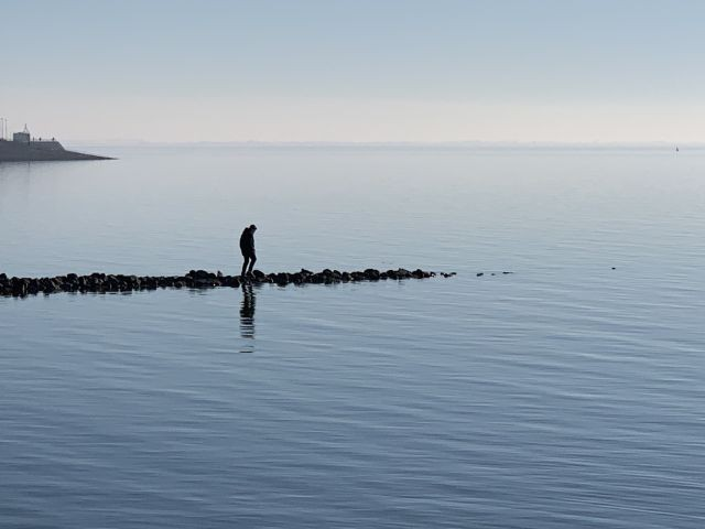 die ruhige Nordsee :-)