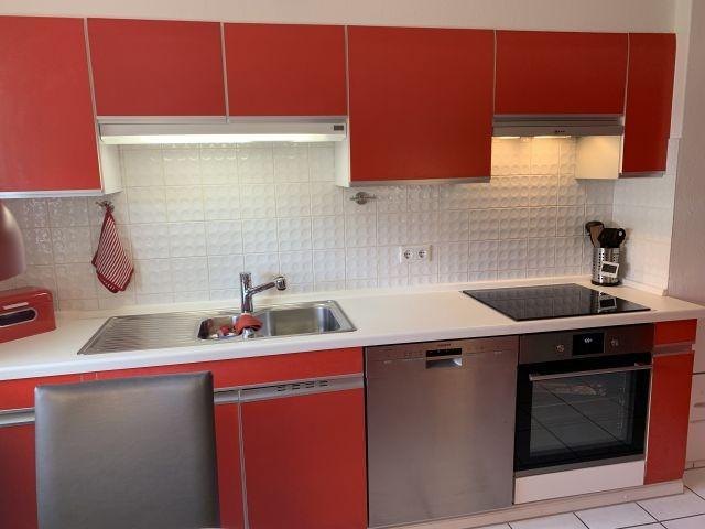 Unsere Küche ist mit modernen E-Geräten ausgestattet