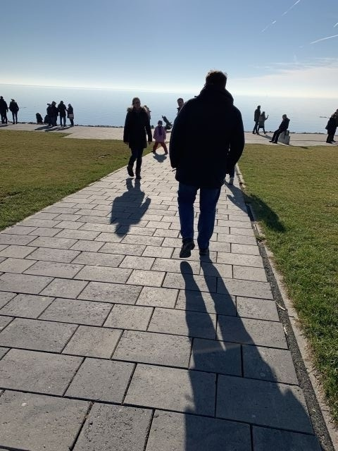 ein Spaziergang auf dem Deich