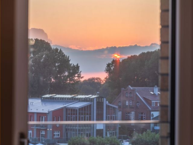 Sonnenuntergang in Waren Müritz
