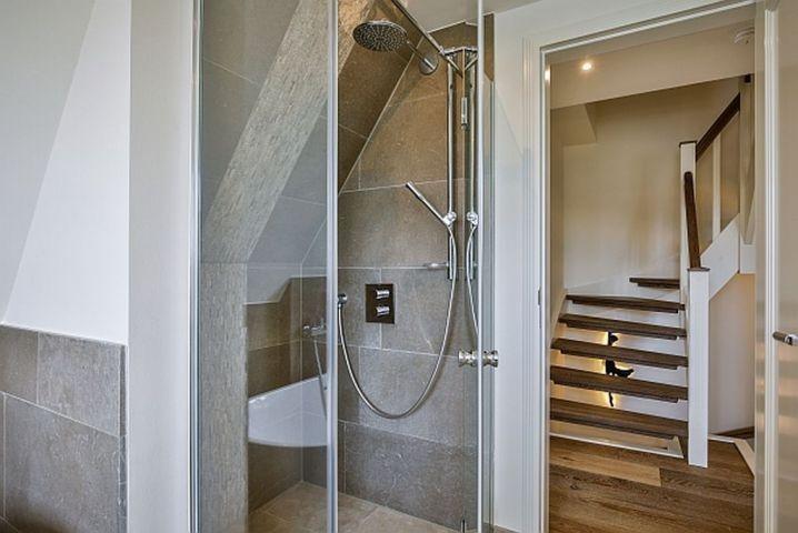 Dusche im Wannenbad