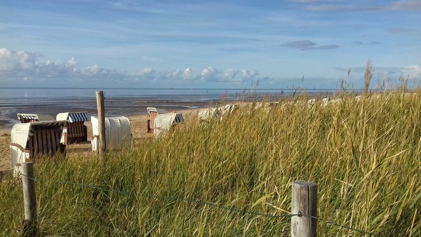Strand in Sahlenburg