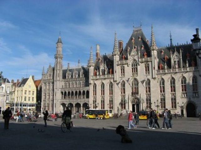 Die Innenstadt von Brugge