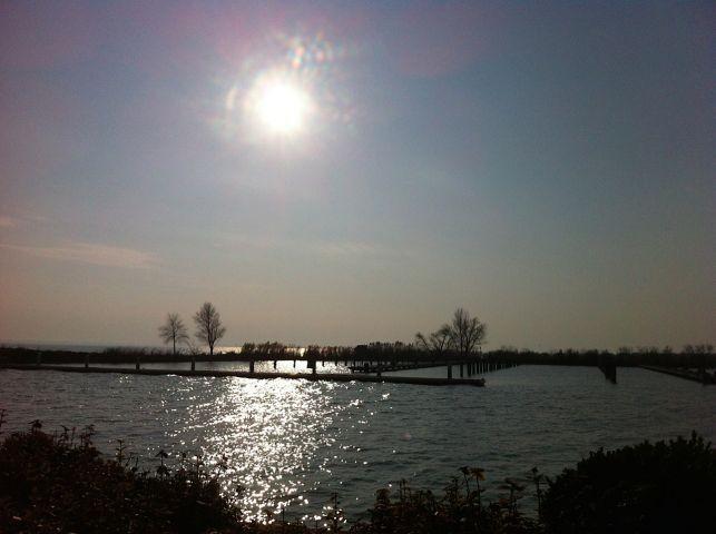 Winter am Balaton