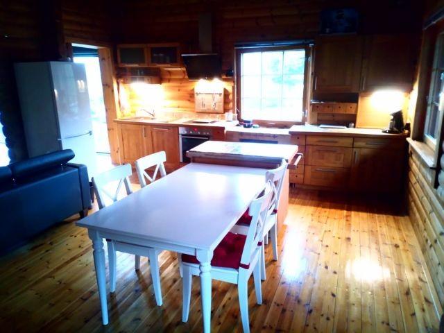 offener Wohnbereich mit Küche/ Essbereich