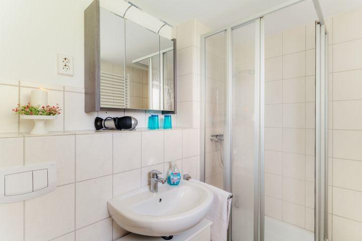 Das Duschbad mit Fenster