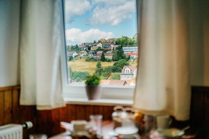 Ausblick aus der Küche