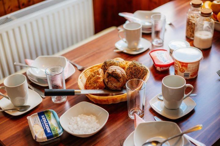 Ein gemütliches Frühstück...