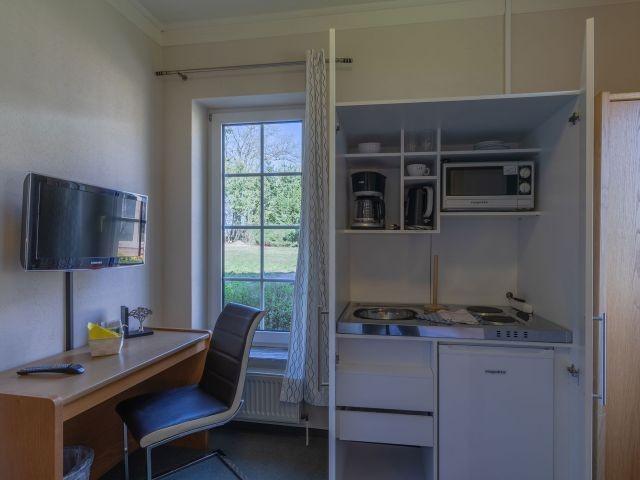eigene Küche im Apartment