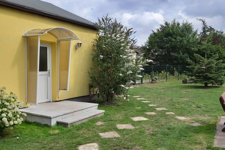 Ferienwohnung Smillenzweg mit eingezäunten Garten