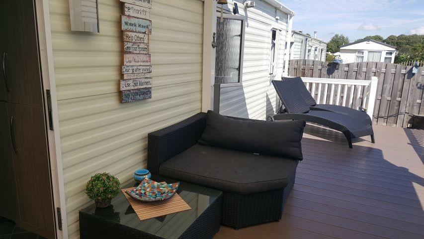 Terrasse / Eingangsbereich