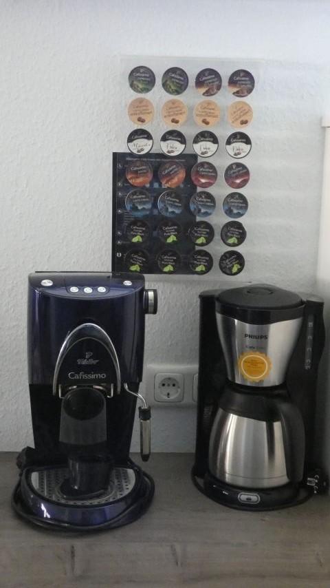 Geniessen Sie leckere Kaffeesorten ... eine große Auswahl steht für die Kapselmaschine zur Verfügung