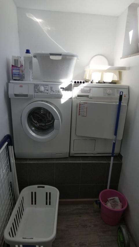 ... und wenn´s mal was zu waschen und zu trocknen gibt
