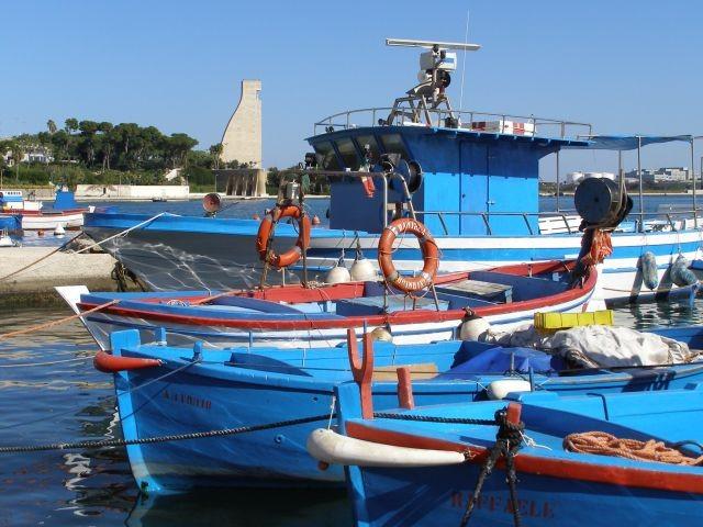 Fischereihafen von Brindisi