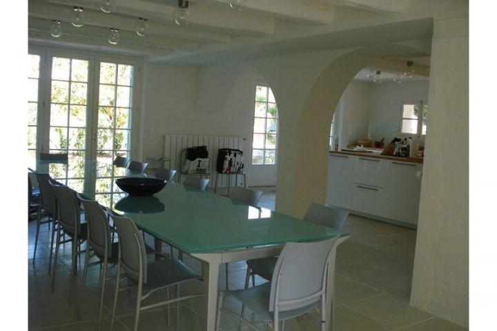 Küche mit Esszimmer