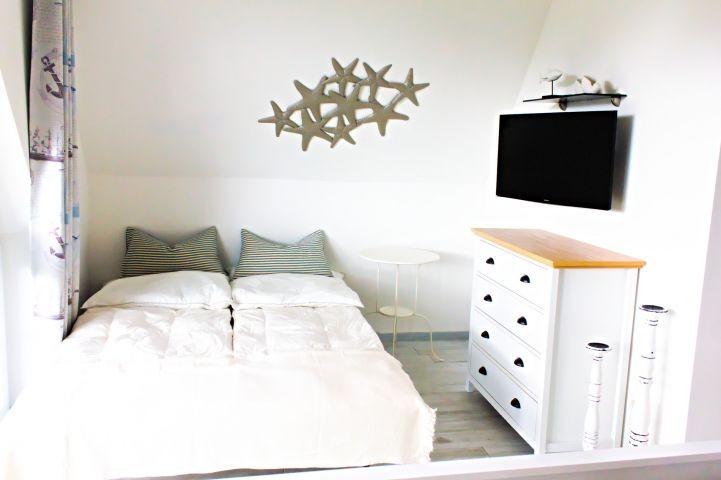 Schlafzimmer 1 - Aufbettung ausgezogen