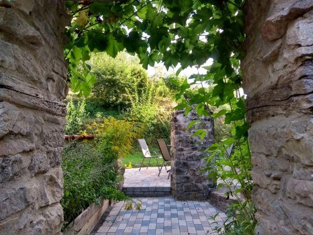 Durchgang zum Garten