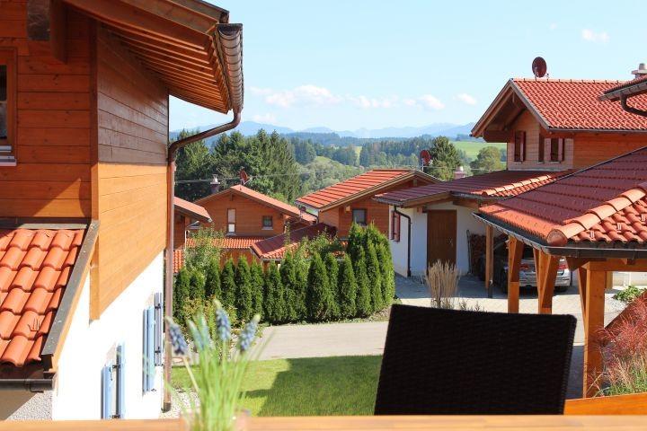 auf der großzügigen Terrasse genießen und entspannen
