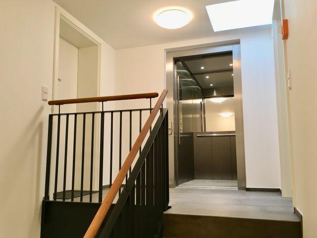 Wohung im 2. OG bequem mit dem Lift oder über das Treppenhaus erreichbar