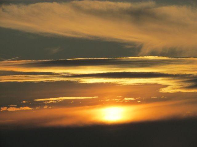 Sonnenuntergang im Rhedener Hochmoor