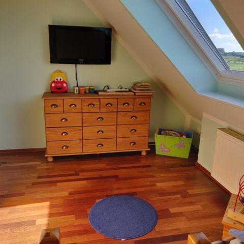 Blick Einzelbettenschlafzimmer