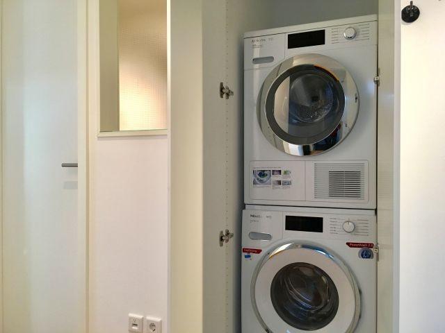 Waschmaschine/Trockner in der Wohnung