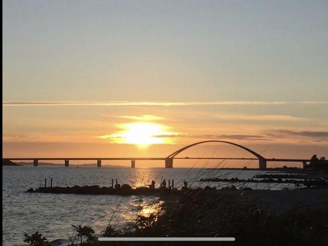 Fehmarnsundbrücke, ca.1km von uns