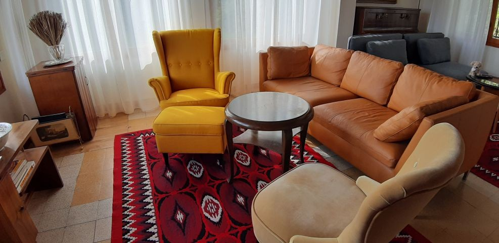 Sitzecke im Wohnzimmer