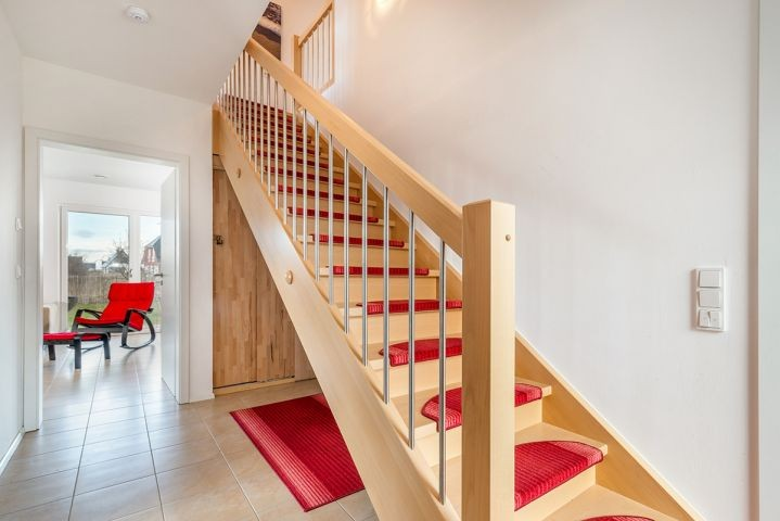 Treppe zum Obergeschosse