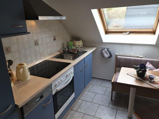 Voll ausgestattete Küche, Spülmaschine, Mikrowelle