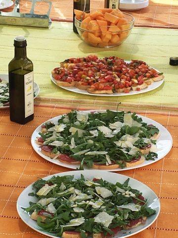 Olivenölverkostung