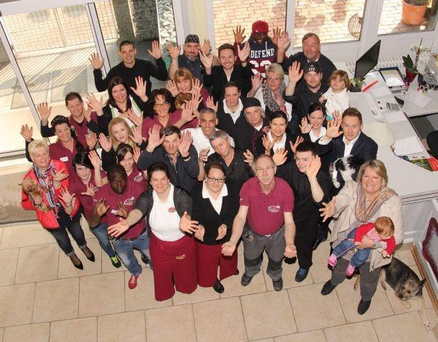 Das Team vom Seehotel Moldan