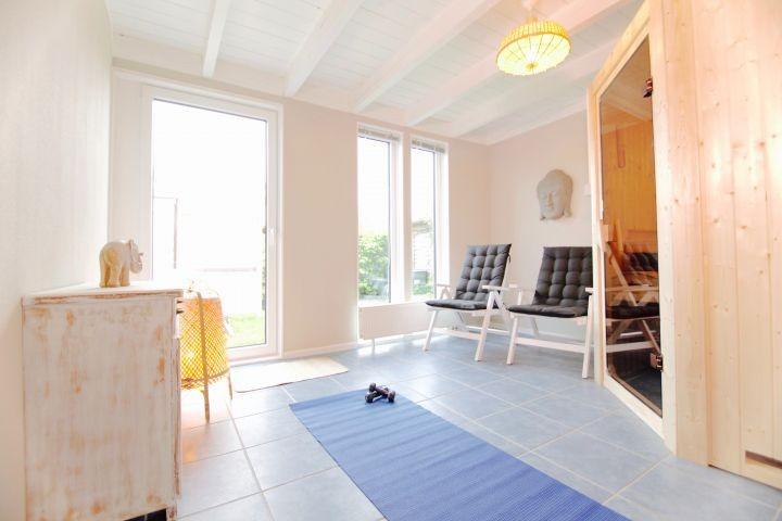Wellnessraum mit Sauna für zwei Personen