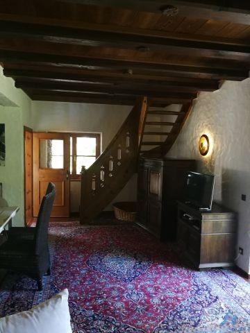 Nun die Treppe hoch..