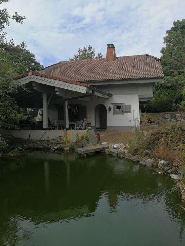 ..das Haus mit Teich!