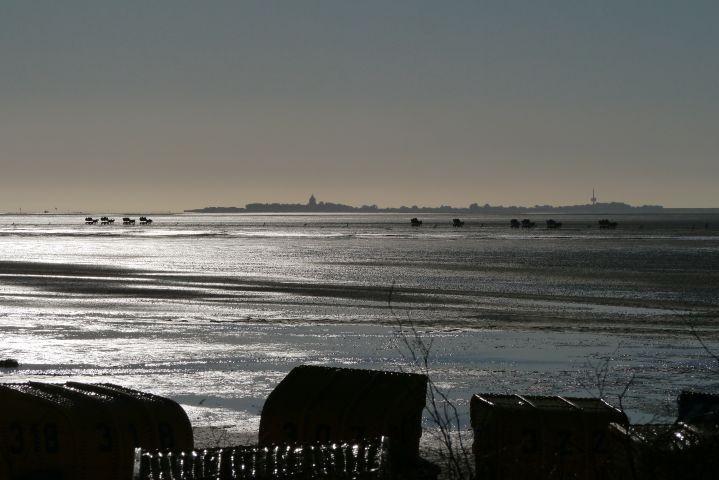 Sonnenuntergang vor der Residenz Meeresbrandung