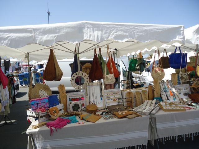 Markt in St. Pierre: Oktoberaufnahme