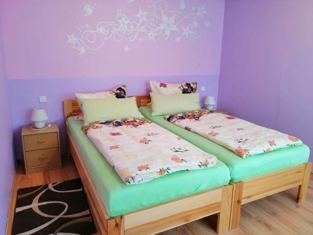 kuschelige und hohe, komfortable Betten