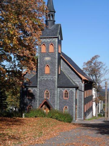 Unsere Holzkirche in Neuhaus